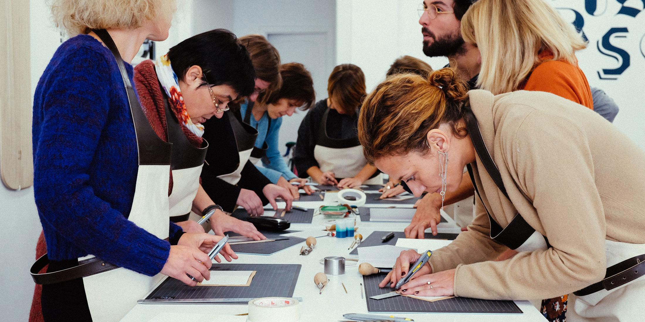 Leather courses Niyona Workshop