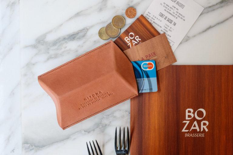 Leathercases Bozar Brasserie x Niyona