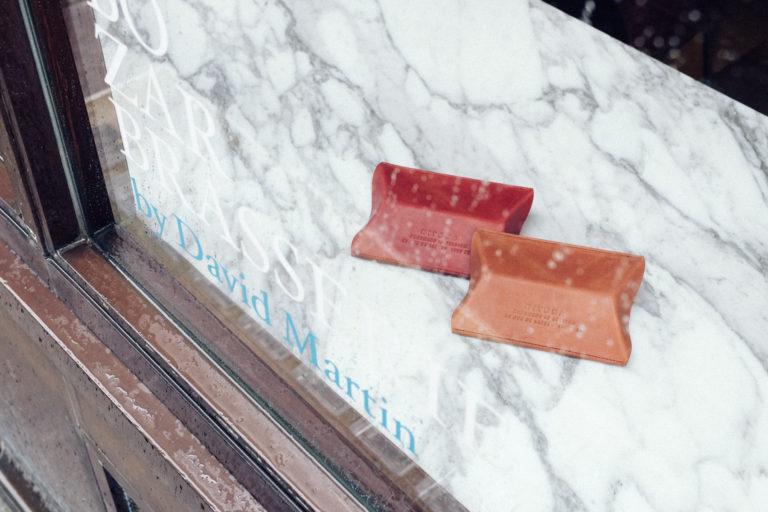 Leather boxes Bozar Brasserie x Niyona